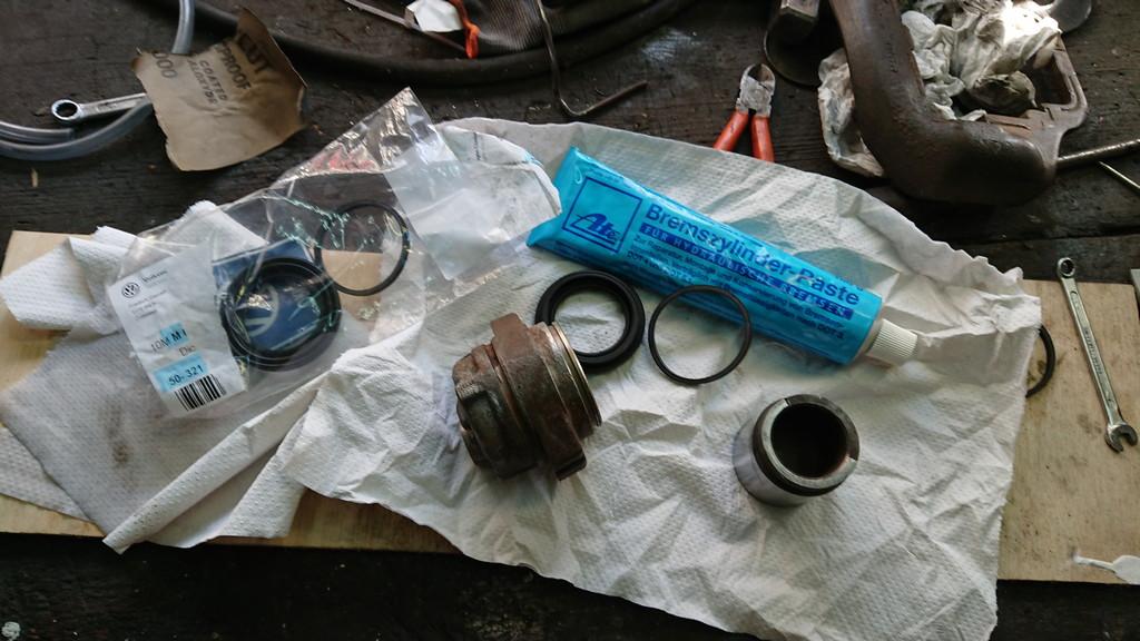 Bremsen vorne schleifen und werden zu heiß? 1980er YV - Typ43